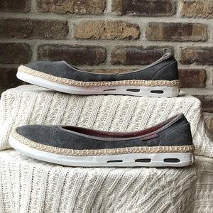 Columbia slip on sneakers